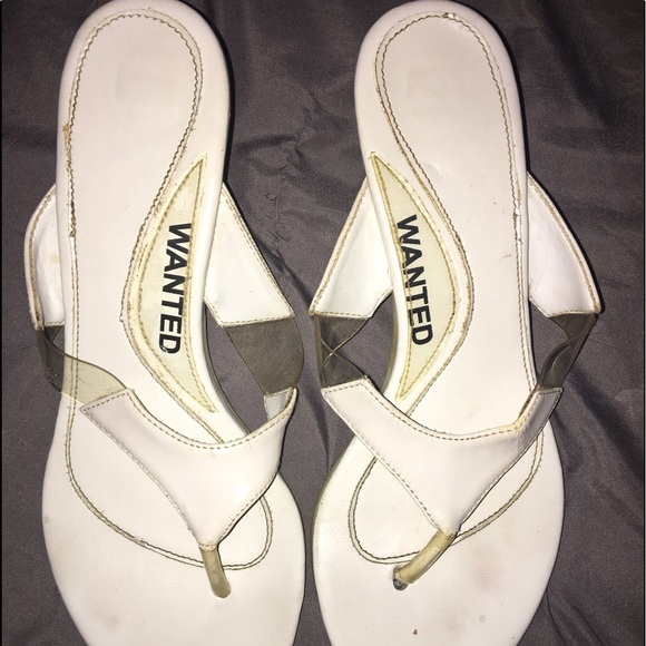 Wanted Shoes - Wanted kitten heel sandals SZ: 7